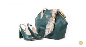 zapatos bolsos cuero